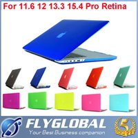 Wholesale China Laptops Book - 2017 macbook air 13 Laptop Case Matte Case for MacBook 11 12 13 15 Air Pro Retina for Apple mac book 13.3 inch factory price