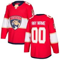 nhl maglie hockey economici Mens Florida Panthers Red autentico personalizzato Jersey negozio usa sport hockey su ghiaccio vuoto personalizzato all'ingrosso fabbrica ki