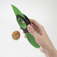 Wholesale Fry Scoop - Good Grips 3-IN-1 Avocado Slicer With Knife Pitter Peeler And Scoop Kitchen Utensil Tool 20*6*3cm Fruit Tool