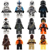Wholesale Star Wars Building Blocks Super Heros Minifig Rainbow Mini Figure Toys Ninja figures marvel Action Figures