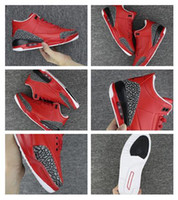 Wholesale Dj Canvas - Wholesale New Arrival Air Retro 3 Grateful 3s True Blue White Cement Red Men Basketball Shoes 2017 Mens DJ Khaled X Sports Sneakers
