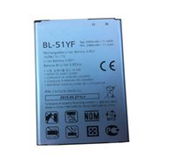 Wholesale G4 Batteries - ALLCCX high quality real capacity battery BL-51YF for LG H815 H818 F500S F500SL F500SK G4 H810 H811 H818T H819 LS991 VS986
