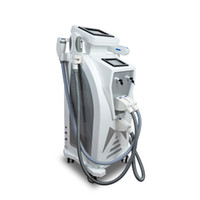 Wholesale laser hair machine q - Multifunction OPT Elight SHR IPL Super Hair Removal Q Switch Nd Yag Laser Tattoo Removal RF Skin Rejuvenation Machine For Salon Clinic Use