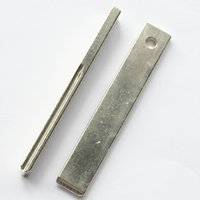 ingrosso scanalature chiave della lama-HU83 Car Key Blade 407 Key Blade con Groove per Peugeot Citroen Remote Key Blade uncut