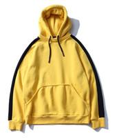 Wholesale vintage sweatshirts - autumn vintage patchwork hoodies women Sweatshirts autumn hoodie sweatshirt hip hop skateboard hoodies us size