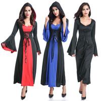 Wholesale holloween costumes women - Little Red Riding Hood Oktoberfest Fancy Dress Fairytale Story Holloween Costume S1824 one size S-L