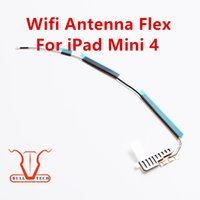 Wholesale Iphone Networking - WiFi Bluetooth Antenna Connector Network Antena Flex Cable Ribbon For iPad Mini 4 Replacement Fix Parts DHL Free Shipping