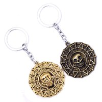 Pirates des Caraïbes Moive Keychain Bijoux Alliage Car Skull Head Key Rings keychain For Men Cadeau Hot Sale