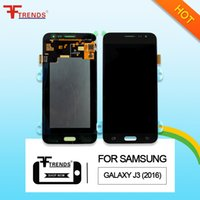 Wholesale Super Lcd - High Quality Super AMOLED AAA+++ Gold White Black LCD Touch Screen Digitizer For Samsung Galaxy J3 2016 J320 J320F J320FN with Repair Tools
