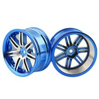 Wholesale rc car rims drift - RC Alloy Wheel 4pc D:52mm W:26mm Fit HSP HPI 1:10 On-Road Drift Car Rim 612B
