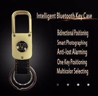 Mini Smart Bluetooth Key Chain Case Holder Keyfobs Bidirectionnel Anti-lost Alarming Fonction Support iOS / Système Android