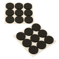 Wholesale Parts Chair - New Arrival High Quality 18X Anti-Skid Rubber Furniture Floor Pads Self Adhesive Protect Tables Chair Leg