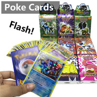 Wholesale Pokemon Poke Pack - Poke go Assorted Cards English Rare Trading Cards Games toys XY XX break point Monsters Flash Fire Random Booster Cards 24 pack