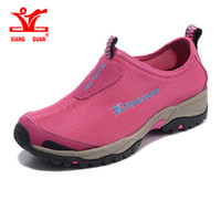 Wholesale Massage Woman Water - XIANGGUAN Woman Wading Shoes Trainers Blue Summer Water Sports Boating Wading Shoe Ladies Running Shoes New Arrival Hot Sale
