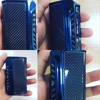 Authentique Thinkvape Finder 75W TC Box Mod Dual 18650 batterie Par Evolv DNA 75 Chip e cigarette Think Vape Mods 100% Authentic 2256001