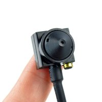 Wholesale Mini Audio Surveillance - Mini Pinhole camera SPY Audio Security Camera CCD 1000tvl Hd Hidden Mini Cctv Surveillance Cam