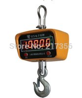 Wholesale industrial electronic resale online - Electronic Crane Scale T KG industrial Digital Crane Scale hook hanging scale