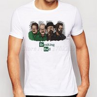 T-Shirt da escursione da campeggio New Fashion Breaking Bad TV Design Maglietta da uomo Evolution Walt White Heisenberg Cool Tops Let's Cook Tee divertente