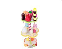 Wholesale Wooden Ice Cream Toy - 2017 free shiping baby wooden educational toys hot sale wooden intelligence ice- cream