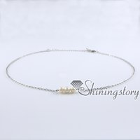 Wholesale Coin Freshwater Pearl Necklaces Jewelry - real (pearl necklace) with pearl in the middle simple (pearl necklaces) coin choker pearl necklace freshwater pearl jewelry