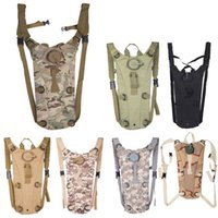 Wholesale 3L Camel Water Bladder bag Portable Hydration Packs Camo Tactical Bike BicycleAssault Backpack Camping Hiking Pouch Water Bag