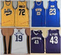 Wholesale Bad Boys - Bad Boy Notorious Big 72 Biggie Smalls Jersey Punahou 23 Barack Obama Basketball Jerseys Marlon Wayans 43 Kenny Tyler Bricklayers 19 Aaliyah