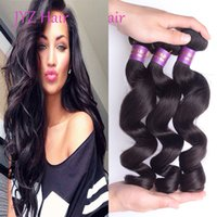 Indian Brazilian Malaysian Peruvian Virgin Hair Loose Wave 100% Hair Hair Packs Couleur naturelle Cheveux humains Wefts