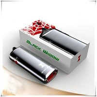 Wholesale Vape Mod Kingtons Black Widow Dry Herb Vaporizer Wax pen Ceramic Heating Coil with mAh battery