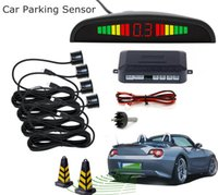 Wholesale Car Auto Parktronic LED Parking Sensor With Sensors Reverse Backup Car Parking Radar Monitor Detector System Backlight Display