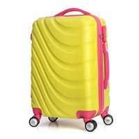 Wholesale Extension Boards - Top Selling Travel Trolley Luggage Aluminium Alloy Rod traveling suitcase Rolling Luggage Extension Boarding Box JO0040
