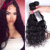 Wholesale Moko Brazilian Virgin Hair Water Wave Unprocessed Human Hair Weaving Bundles Natural Wave Wet And Wavy Virgin Brazilian Hair Extensions