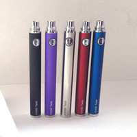 Batteries eGo C Evod Twist eGo-C Twist 650/900/1100 / 1300mah Batterie à tension variable compatible avec toutes les séries eGo Kit