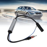 Wholesale Cable Amplifier Signal Booster - Auto Car Antenna Plug Radio FM Inline Signal Amplifier Booster Extension Cable