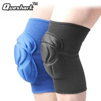 Vente en gros - 1 PC Hommes Winter Dance Ski Knee Pad Épaisses Sponge Knee Support Enfants Ski Snowboard Knee Protection Kids Dance Sport Safety