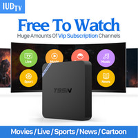 Wholesale Best Tv Free Iptv Box - Best IPTV Set Top Box T95N Italy UK DE European IPTV Box For Spain Portugal Turkish Netherlands IPTV Tv Box Free Shippi