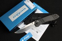 Wholesale Outdoor Axes - Top quality Benchmade S90V Blade Axis folding knife carbon fiber handle Copper washer hunting outdoor camping Pocket Survival EDC Knives