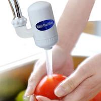 ingrosso rubinetto in ceramica filtro acqua-Eco-friendly Home Cartridge Ceramica Rubinetto Filtro depuratore d'acqua potabile per bere Accessori da cucina di alta qualità