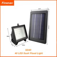 Wholesale Solar Power Led Outdoor Flood - Hot Selling !!! Outdoor Solar Powered 40 LED Soalr Flood Light Garden Outdoor Floodlight Lamp free shipping