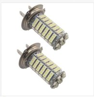 Wholesale Car Auto H7 Xenon White - 100X H7 102SMD 68SMD 1210 Car Auto Fog Light Bulb Lamp DC12V Replace For HID Xenon Halogen Lights