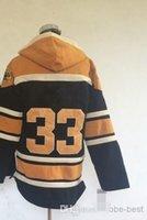 Wholesale Wholesale Hockey Sweatshirts - Wholesale #33 Zdeno Chara Pullover Hooded Sweatshirt Hockey Jackets New Style All Teams Outdoor Uniform size 48-56 free shipping