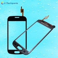 Wholesale Trend Ii Duo - For Samsung Galaxy Trend II Duos S7572 Touch Screen Digitizer Glass Replacement i699 s7562i i739 s7568, Black White