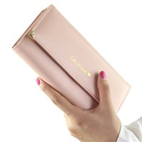 Wholesale Women Birthday Purse - QICAI.YANZI 2017 Best Deal Fashion Handbags Lady Women Wallets Bag Popular Purse Long PU Handbags Card Holder Birthday Bags