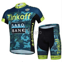 Wholesale Saxo Bank Pink - Vacove 2016 Saxo Bank Tinkoff team cycling jersey bike shorts set Ropa Ciclismo quick dry mens pro cycling wear bicycle Maillot Culotte