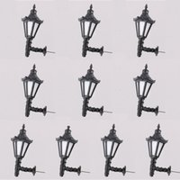 Wholesale model lamppost - Model Railway Led Lamppost Lamps Wall Lights G Scale 3V Warm White