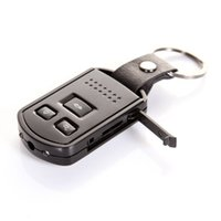Wholesale Mini Car Keys Micro Camera - HD 1080P Metal Car Key Mini Hidden SPY Camera DVR Motion Detection Video Recorder with IR Night Vision Micro Covert Camera Mini DV Keychain