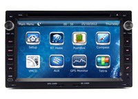 Wholesale Volkswagen Head Unit - 2-Din Head Unit Car DVD GPS Navigation for VW Volkswagen Golf Polo Sharan Transporter with Radio Bluetooth SD USB AUX Auto Audio Video