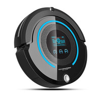 Wholesale Mopping Vacuum Robot - 2017 Most Advanced Robot Vacuum Cleaner For Home (Sweep,Vacuum,Mop,Sterilize) With Remote control, LCD touch screen, schedule