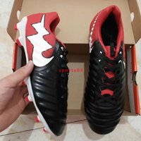 2017 Hot Sale Tiempo VII FG Soccer Cleats Cr7 Calçados de futebol para homens Low Ankle Football Boots Outdoor New Top Quality Football Sneakers 39-45