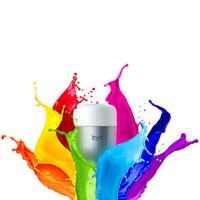 Wholesale Original Led Light Bulb - Wholesale-Original Xiaomi Yeelight Blue II LED Smart Bulb ( Color )E27 9W 600 Lumens Mi Light Smart Phone WiFi Remote Control