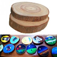 Pascua 30 unids 3-4 CM Madera Log Slices Discos para DIY Artesanías Wedding Centerpieces
